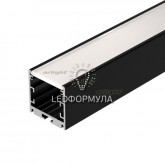 Профиль SL-ARC-3535-LINE-2500 BLACK (ARL, Алюминий)