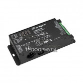 Конвертер SMART-K24-DMX512 (12-24V, SPI, 2.4G) (ARL, IP20 Металл, 5 лет)