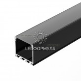 Профиль PLS-LOCK-H25-2000 ANOD Black