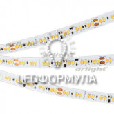 Лента RT-5000 24V DIM-TO-WARM 10mm (2835, 168 LED/m, LUX)