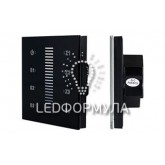 Панель Sens SR-2830A-RF-IN Black (220V,DIM,4 зоны)